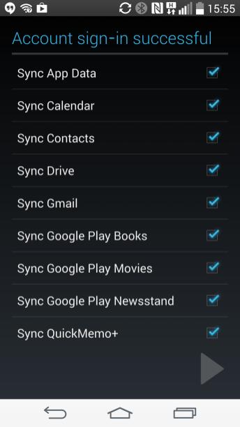 QuickMemo+ Google Sync