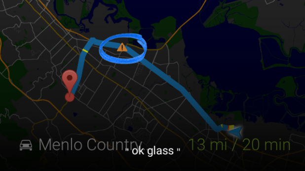 Glass Waze