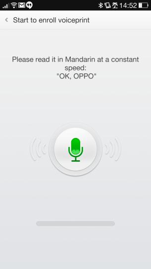 Guest Mode Voice Print