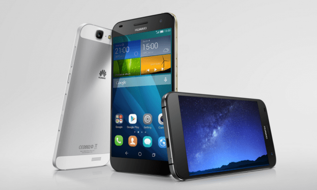 Huawei Ascend G7 - Colours
