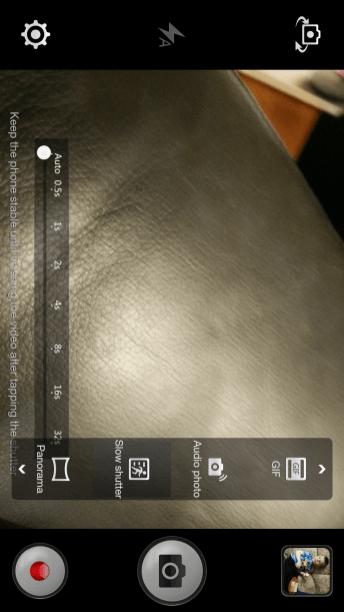 Oppo Find 7 Camera UI