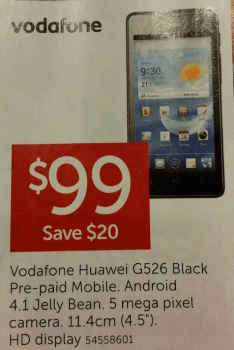 Huawei Ascend G526 - Target Catalogue