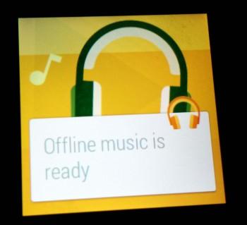 google play music how to listen offline