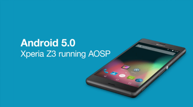 AOSP - Lollipop for Xperia Z1-Z2-Z3