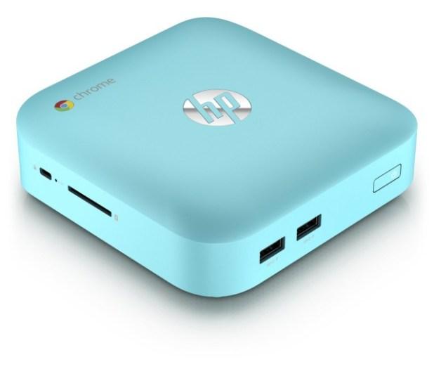 HP Chromebox - Turquoise