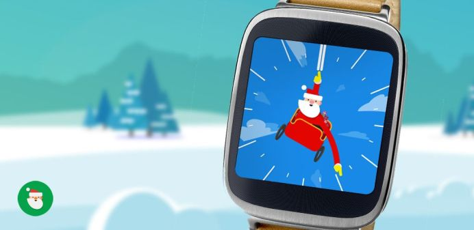 Android Wear Santa Tracker
