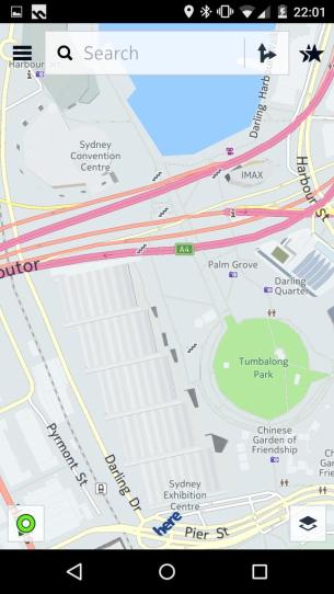 Nokia Here - Darling Harbour (Out of date - Exhibition hall is no longer there).