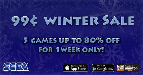 Sega - Winter - sale