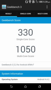 Geekbench 3 summary 2