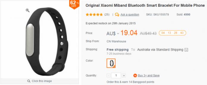 XiaomiMiband