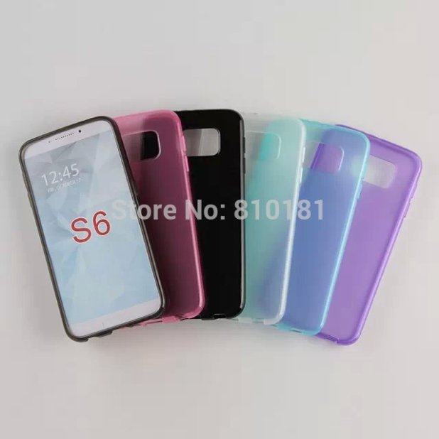 10pcs-lot-Free-Shipping-New-shine-Soft-TPU-case-cover-for-Samsung-Galaxy-S6-G9200