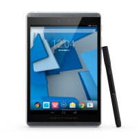 HP Pro Slate 8 Tablet, Center, Front with HP Duet Pen