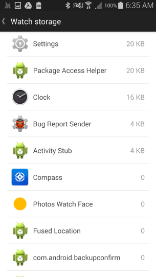 Running apps on the Zenwatch review 5