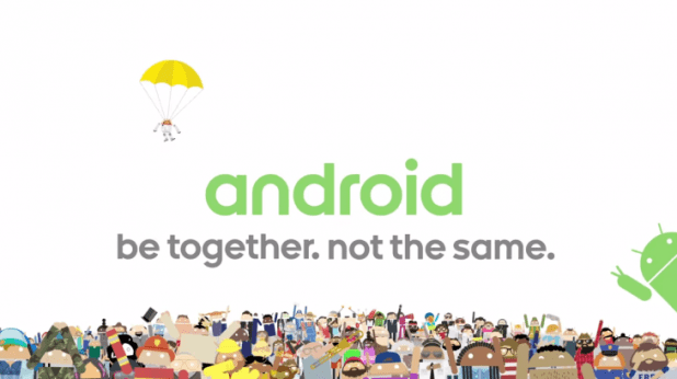 Android Be Together Not The Same