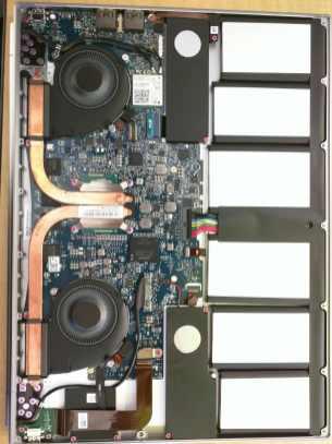 Chromebook Pixel 2 innards