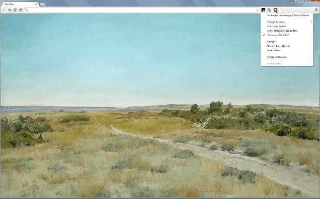 Google Art Project Chrome Extension