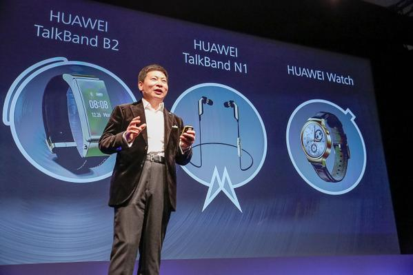 Huawei Watch, Talk Band N1 and Talk Band B2