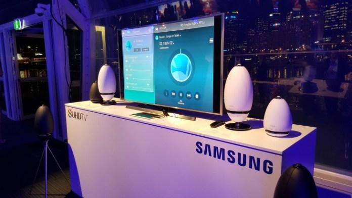 Samsung SUHD TV Launch WAM 7500 6500