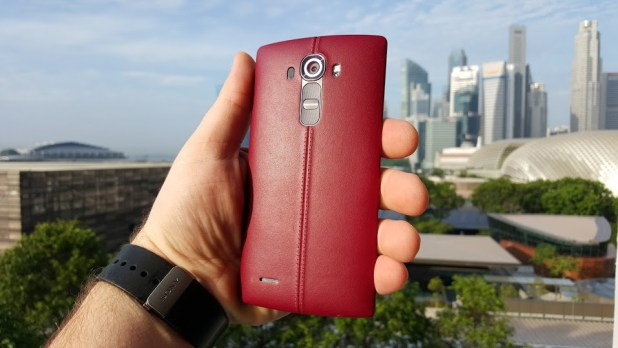 G4 in Red Leather