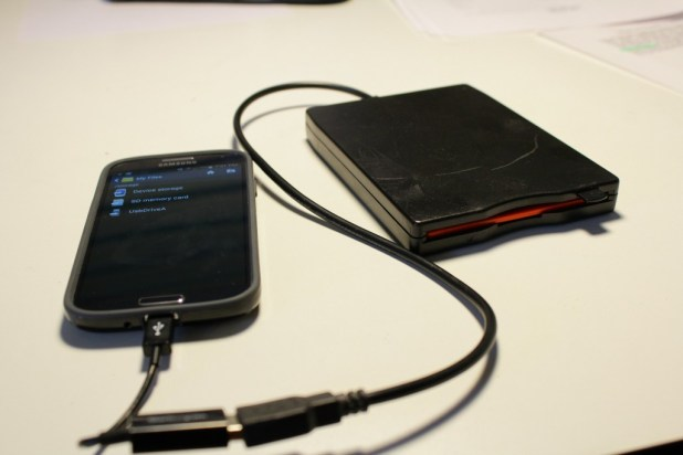 USB OTG Floppy Drive