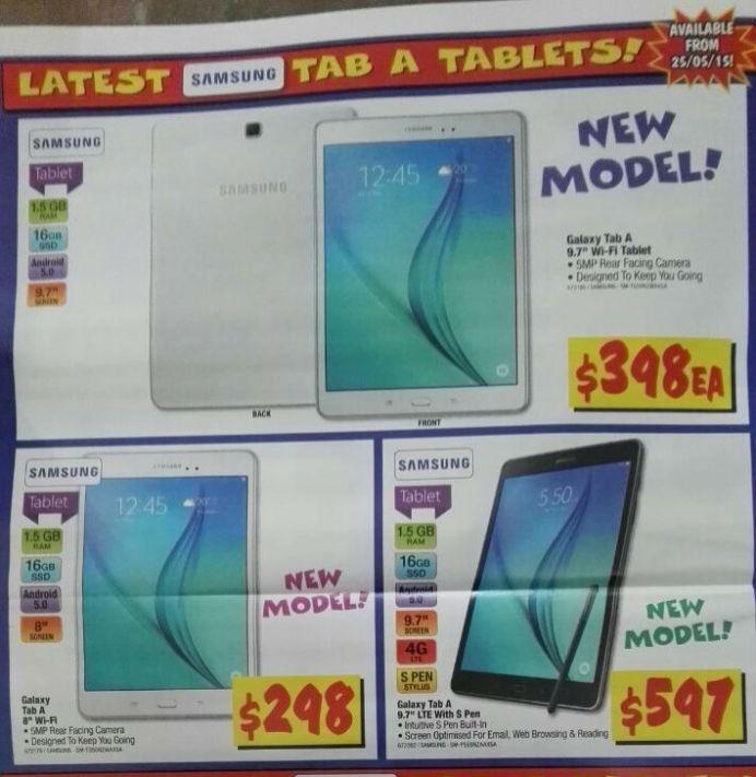 Galaxy Tab A Tablets at JB Hifi