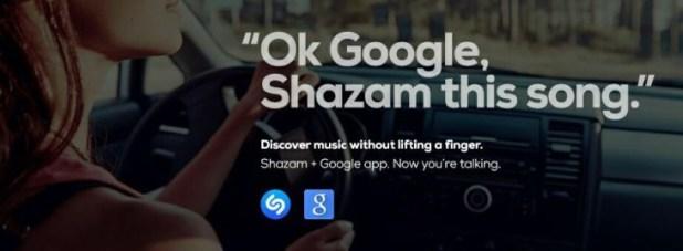 Shazam and Google