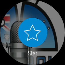 Pocket Cast - Android Wear - Star