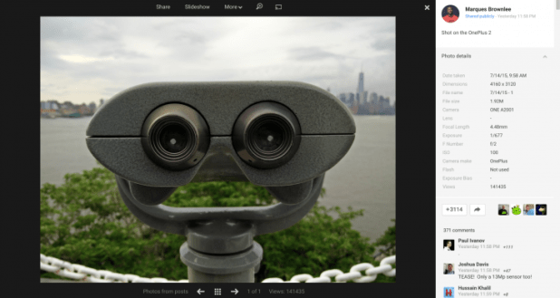 OnePlus 2 camera Sample