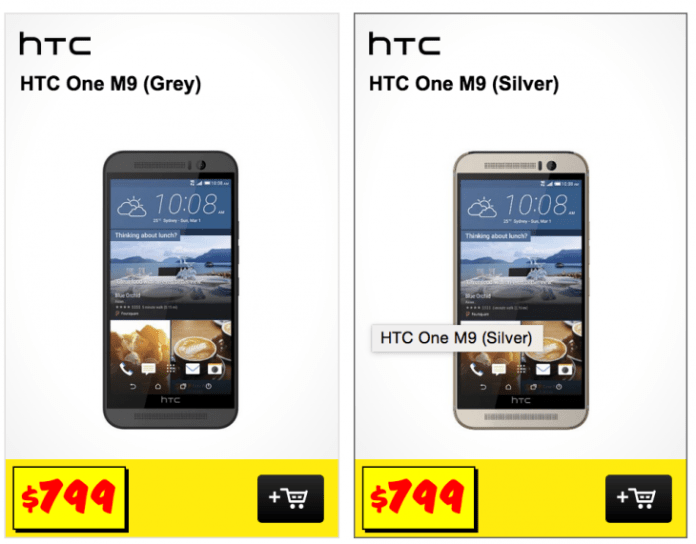 JB Hifi One M9 on-sale