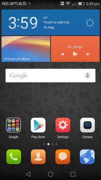 Vivid - 2 - Homescreen