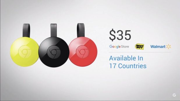 Chromecast availability