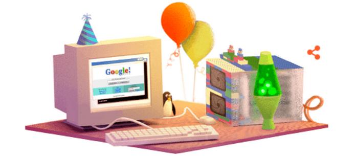 Google 17th Birthday