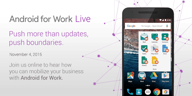 Android for Work Live