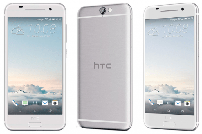 HTC One A9 White-SIlver