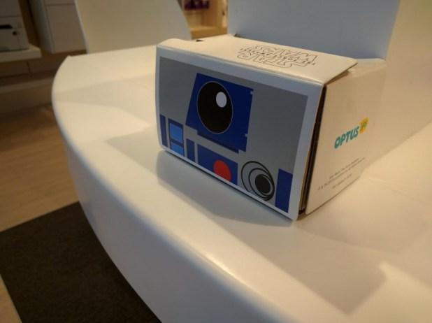 Optus Cardboard