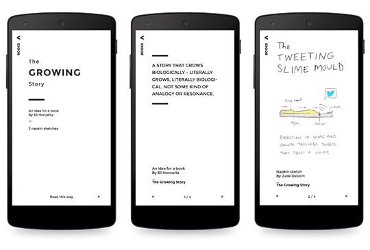 5 Concept Books on Phones