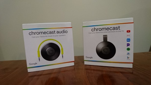 Chromecast 2 - Chromecast Audio
