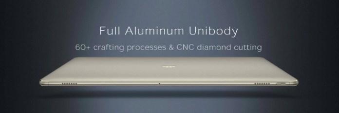 Huawei Mate Book - Aluminium