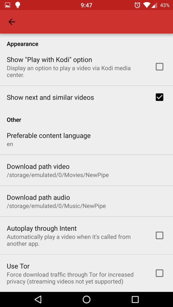 NewPipe, a YouTube Downloading App - Ausdroid
