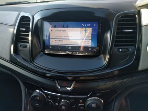 Android Auto in my Holden Commodore SS-V Redline