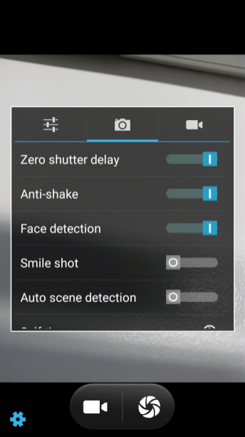 Camera UI Settings 2