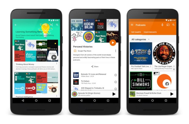 Pocasts - Google Play Music