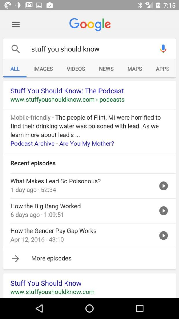 Podcasts 1