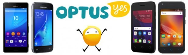 New Optus Pre-Paid devices May 2016