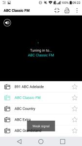 DAB+ Radio Interface