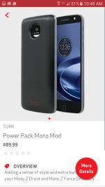 Moto Mod - Power Pack
