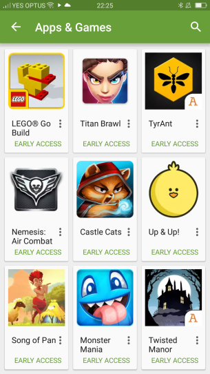 Early Access - Games