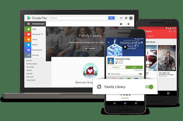 Family Library - Google PLay
