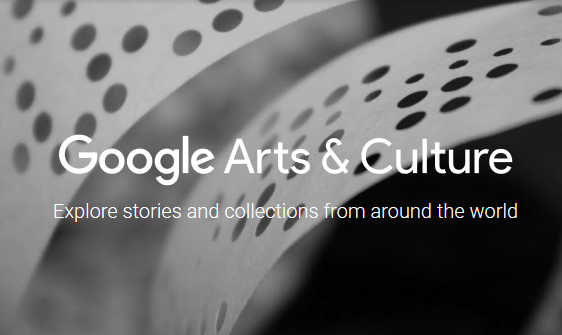 Google Arts & Culture headder