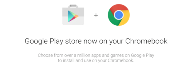 play store on chrome